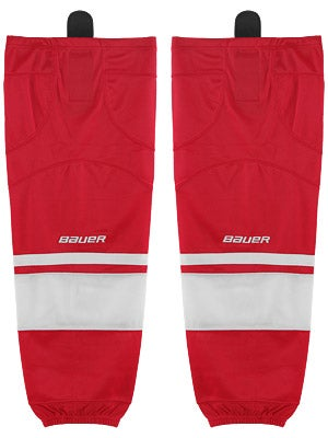 Bauer Premium 0575 Ice Hockey Socks Red Jr