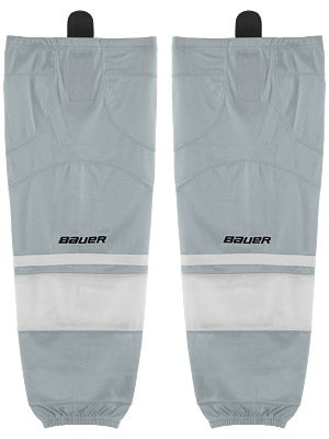 Bauer Premium 0575 Ice Hockey Socks Silver Sr