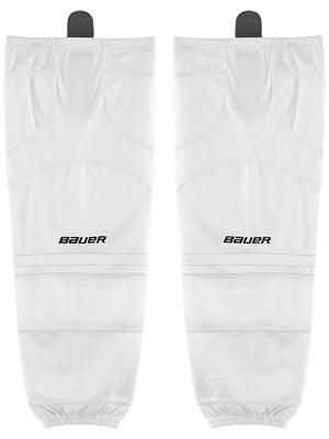 Bauer Premium Ice Hockey Socks White Jr