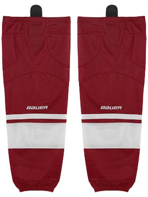 Bauer Premium Ice Hockey Socks Wine Jr