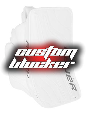 Custom Bauer Reactor 6000 Goalie Blockers