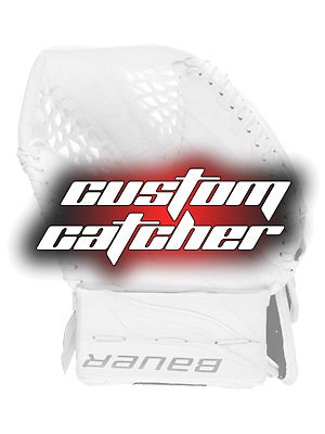 Custom Bauer Reactor 6000 Goalie Catchers