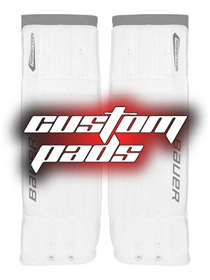 Custom Bauer Reactor 6000 Goalie Leg Pads