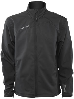 Bauer Soft Shell Full Zip Team Jacket Junior