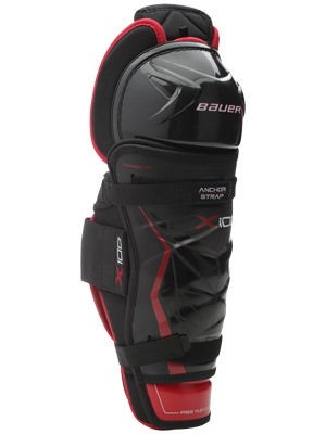 Bauer Vapor X100 Hockey Shin Guards Jr