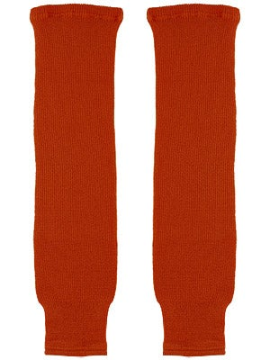 CCM Burnt Orange Ice Hockey Socks Sr