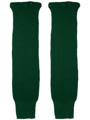 CCM Dark Green Ice Hockey Socks Jr & Yth