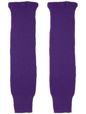 CCM LA Purple Ice Hockey Socks Jr & Yth