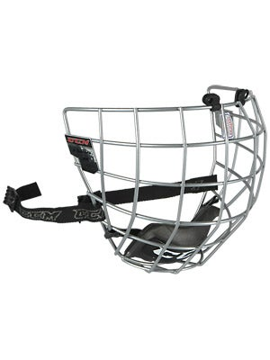 CCM FM06 Silver Hockey Helmet Cages Sr Md