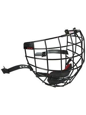 CCM FM580 Black Hockey Helmet Cage Sr & Jr