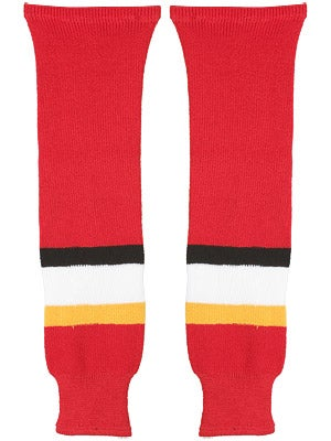 Calgary Flames CCM Ice Hockey Socks Sr