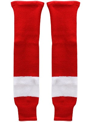 Detroit Red Wings CCM Ice Hockey Socks Sr