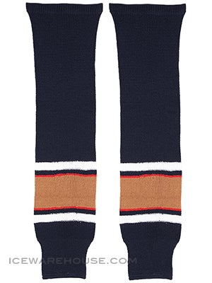 Edmonton Oilers CCM Ice Hockey Socks Jr & Yth