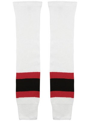 New Jersey Devils CCM Ice Hockey Socks Jr & Yth