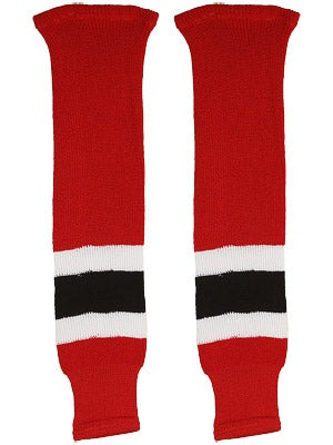 New Jersey Devils CCM Ice Hockey Socks Sr