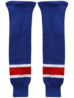New York Rangers CCM Ice Hockey Socks Jr & Yth