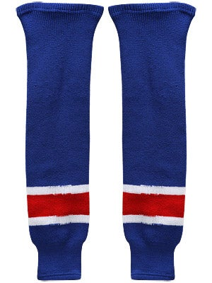 New York Rangers CCM Ice Hockey Socks Sr