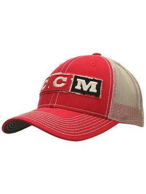 CCM Nations Hockey Mesh Snapback Hats