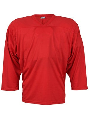 CCM 10200 Practice Hockey Jersey Red Sr
