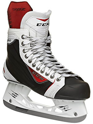 CCM RBZ 75 White LE Ice Hockey Skates Jr