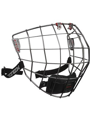 CCM Resistance 300 Black Hockey Helmet Cage Sr & Jr