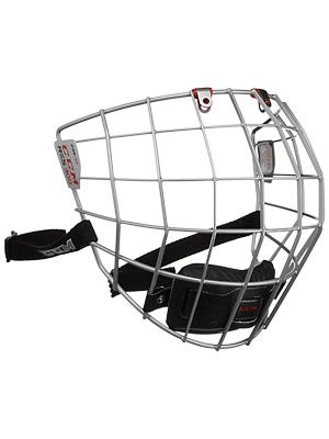 CCM Resistance 300 Silver Hockey Helmet Cage