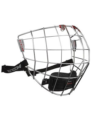 CCM Resistance Chrome Hockey Helmet Cage