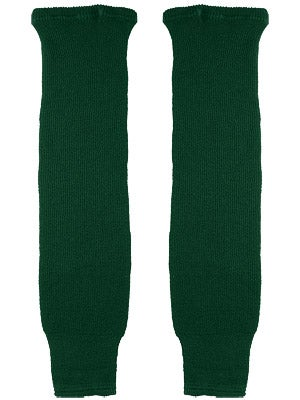 CCM Dark Green Ice Hockey Socks Sr