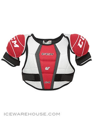 CCM U+04 Hockey Shoulder Pads Jr Lg