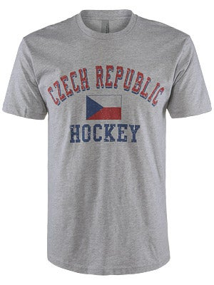 Czech Republic Hockey Flag Shirt Sr