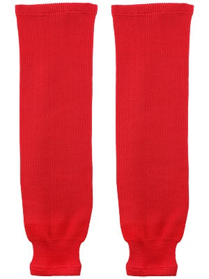 Gladiator Cut Protective Ice Hockey Socks Red Jr