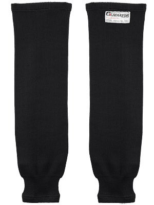 Gladiator Cut-Resistant Ice Hockey Socks Black Sr