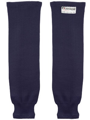 Gladiator Cut Protective Ice Hockey Socks Navy Sr