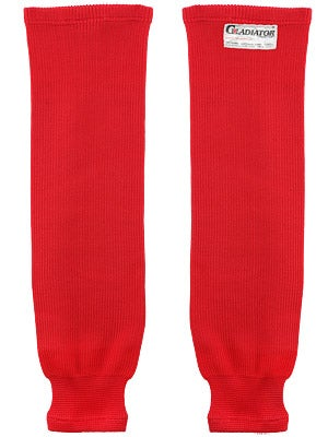 Gladiator Cut Protective Ice Hockey Socks Red Sr