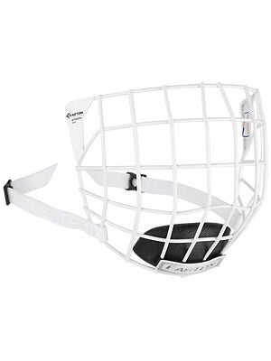 Easton E700FM White Hockey Helmet Cages Sr