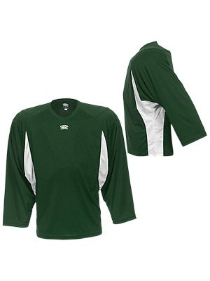 Easton Elite Dry Flow Goalie Jersey Green & White Sr