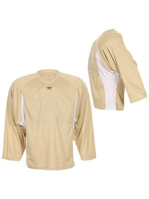 Easton Elite Dry Flow Player Jersey Gold & White Jr