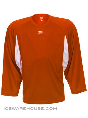 Easton BioDri Player Jersey Orange & White Sr XXL