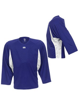 Easton Elite Dry Flow Player Jersey Royal & White Sr