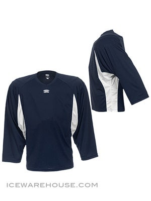 Easton Elite Dry Flow Goalie Jersey Navy & White Sr