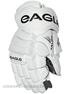 Eagle Talon 60 Hockey Gloves Jr Wht 12