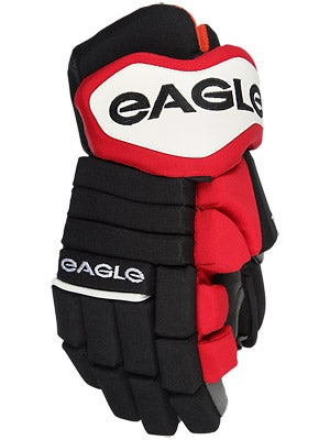 Eagle Talon Pro 90 Hockey Gloves Sr Blk/Red/Wht 14.5