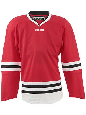 Chicago Blackhawks Reebok Edge Uncrested Jerseys Jr