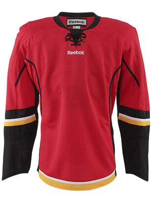 Calgary Flames Reebok Edge Uncrested Jerseys Jr