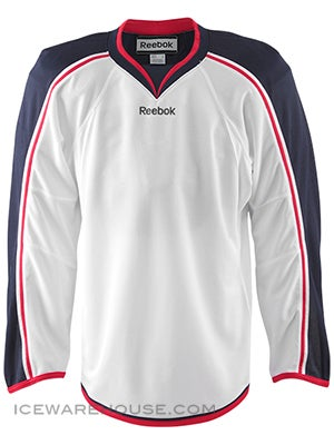 Columbus Blue Jackets Reebok Edge Uncrested Jerseys Jr