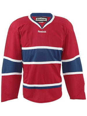 Montreal Canadiens Reebok Edge Uncrested Jerseys Jr