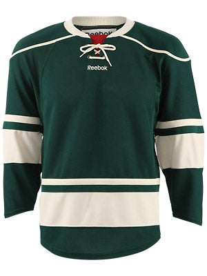 Minnesota Wild Reebok Edge Uncrested Jerseys Jr L/XL