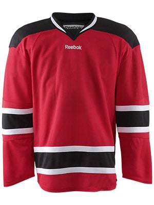 New Jersey Devils Reebok Edge Uncrested Jerseys Jr
