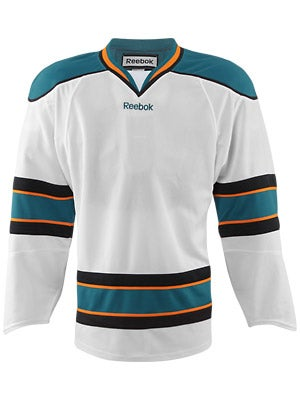 San Jose Sharks Reebok Edge Uncrested Jerseys Sr