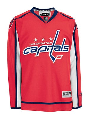 Washington Capitals Reebok NHL Replica Jerseys Sr